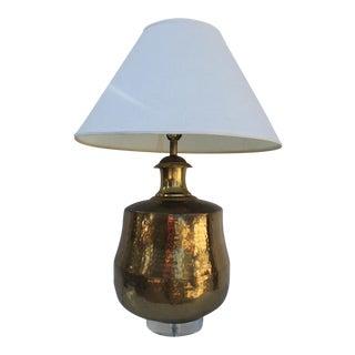 Vintage Hollywood Regency Ginger Jar Lamp