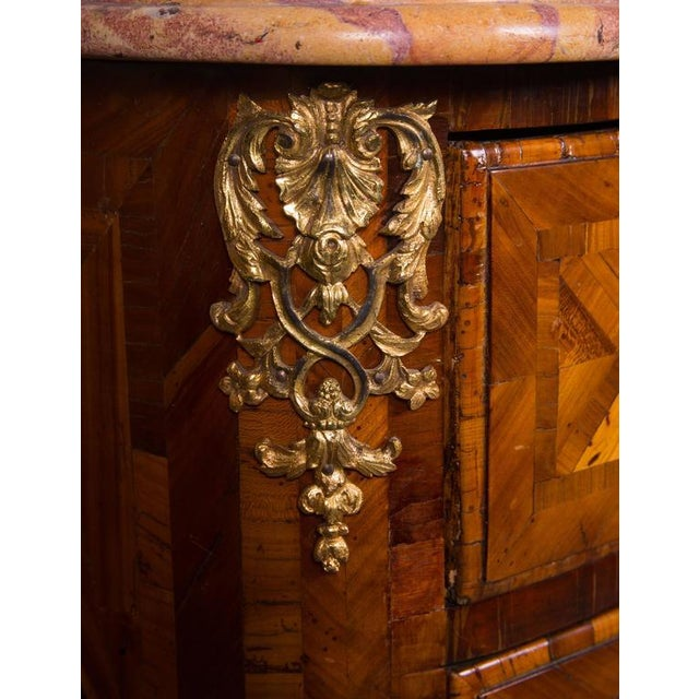 French Regence Inlaid Commode - Image 3 of 5