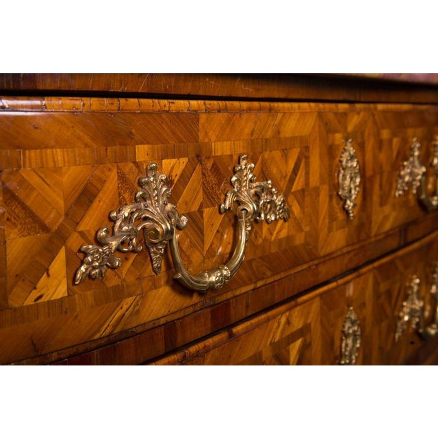 French Regence Inlaid Commode - Image 5 of 5