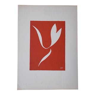"1939 Vintage Matisse Lithograph-Verve-Paris-""Remember"""