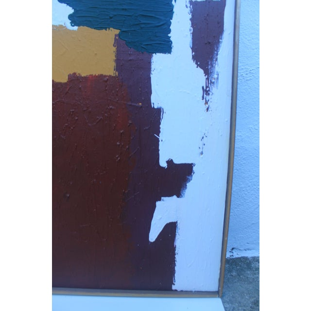 Mid-Century Modern Abstrac Expressionist Painting - Image 3 of 11