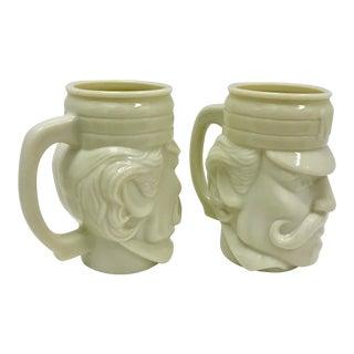 Sherlock Holmes Mugs by Avon - A Pair
