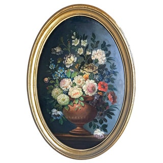 Antique Floral Still Life
