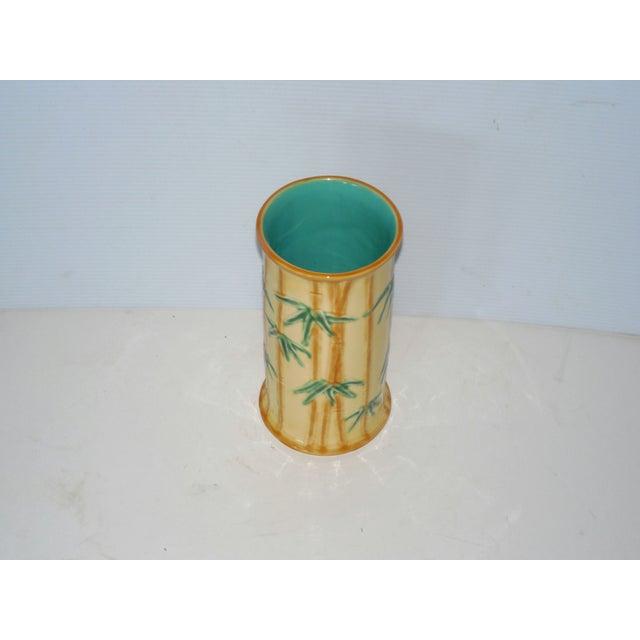 Tiffany Portugese Ceramic Vase - Image 3 of 4