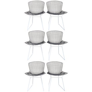 Harry Bertoia for Knoll Wire Chairs - Set of 6