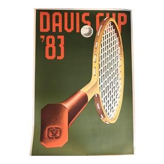Davis Cup Konrad Klapcheck Poster