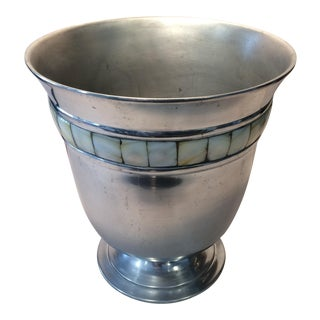 Boho Chic Mother of Pearl Ice Bucket