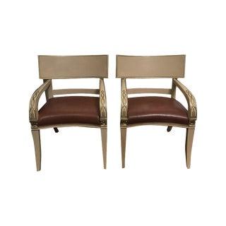 Vintage Nancy Corzine Chairs - A Pair