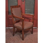 Image of 19th Century Directoire Style Armchairs - Pair