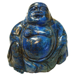 Lapis Lazuli Carved Buddha