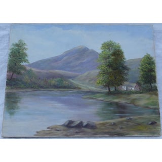 MCM Landscape Painting by M.F. Musgrave