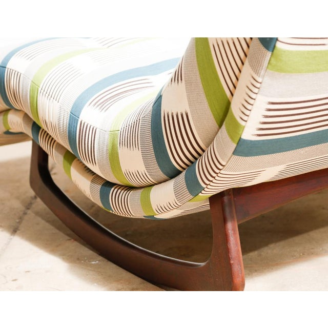 "Adrian Pearsall ""Wave"" Chaise Rocker - Image 6 of 11"