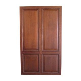 Custom White Walnut Doors - A Pair