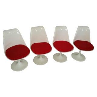 Saarinen Knoll Tulip Chairs - Set of 4
