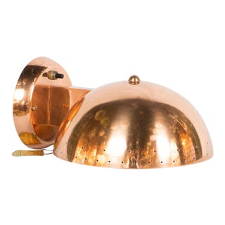 Copper Plated Framburg Sconce