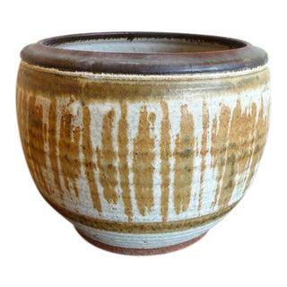 Mid Century Studio Pottery Planter