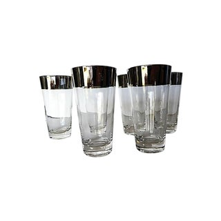 Mid-Century Modern Bar Glasses -Set of 6