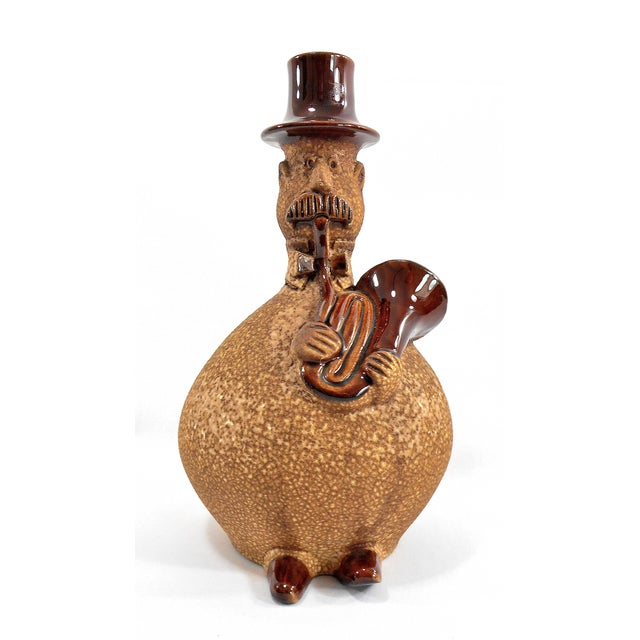 Image of Royal Haeger Toe Tapper Jazz Musician Vase