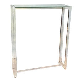 Ava Acrylic & Glass Console Table