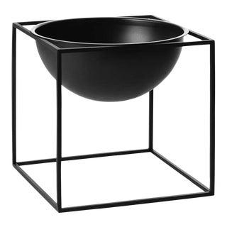 Kubus Large Black Bowl