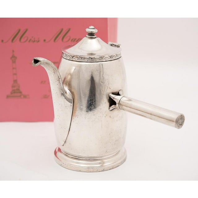 Hotel Pierre NYC Handled Coffee Pot, 1954 - Image 2 of 7