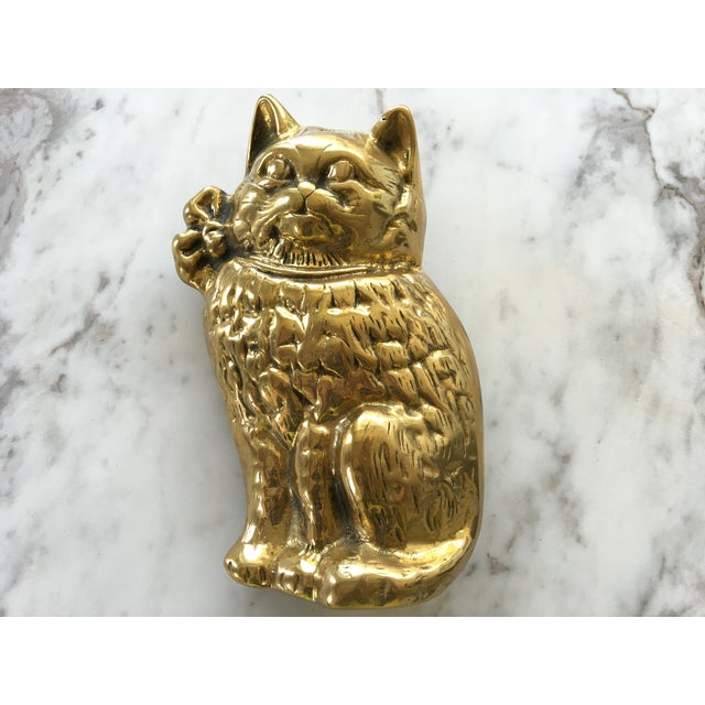 Brass Cat Door Knocker - Image 3 of 6