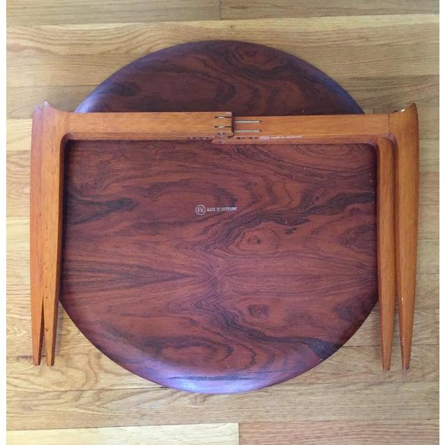 Fritz Hansen Danish Modern Folding Tray Table - Image 5 of 7