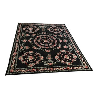 French Needlepoint Rug - 8'3 X 11'6