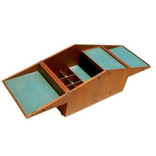 Mid Century Modern Bar Case Cubic Table By Dyrlund