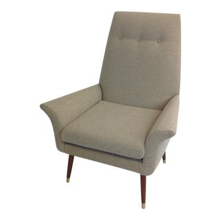 Mid-Century Gullwing Lounge Chair