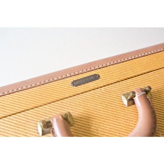 1950s Vintage Komfy Travel Suitcase Yellow Large - Image 6 of 6