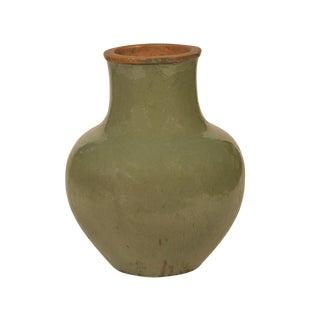 Green Ceramic Pot Vase