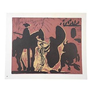 """Vintage Picasso Lithograph-""""Les Banderilles"""""""