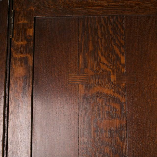 Image of Vintage Stickley Armoir