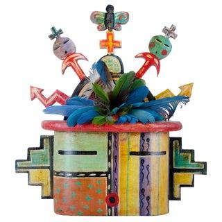 1997 Gregory Lomayesva Hopi Mask