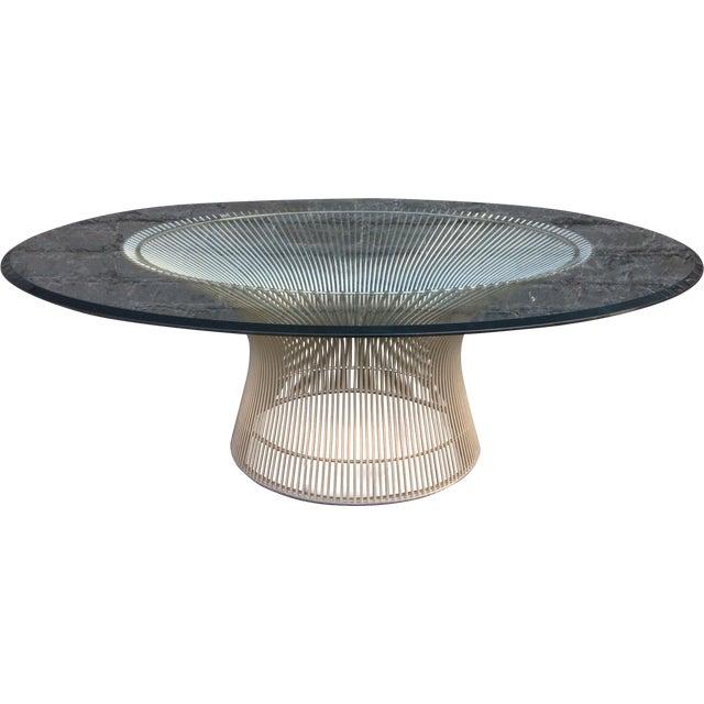 Mid Century Warren Platner Coffee Table Chairish