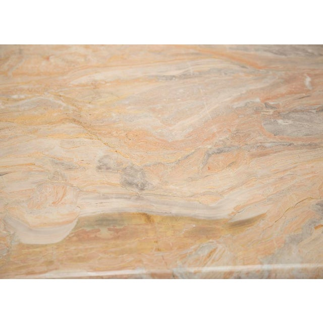Variegated Marble Console Table - Image 7 of 10