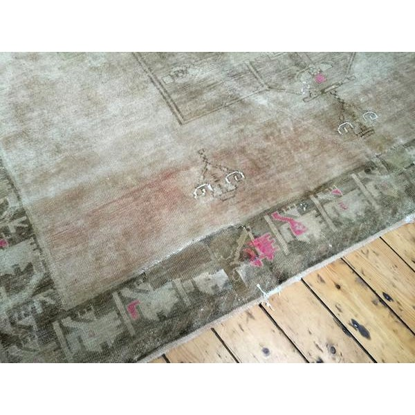 "Vintage Oushak Carpet - 8'3"" X 11'5"" - Image 3 of 7"