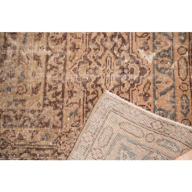 "Distressed Vintage Oushak Carpet - 8'8"" x 11'8"" - Image 5 of 7"