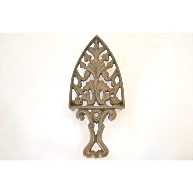 Antique Cast Iron Trivet - Image 2 of 4