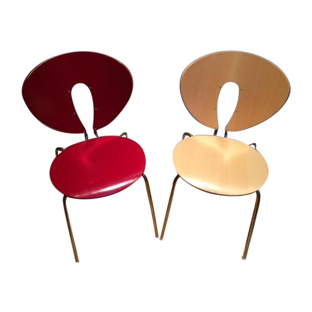 Image of Jesus Gasca Modern Globus Chairs - A Pair