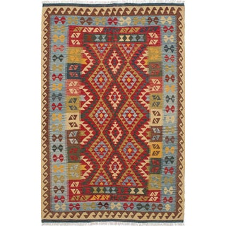 "Vintage Turkish Kilim - 6'2"" x 9'9"""