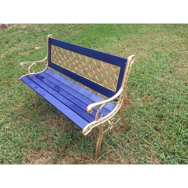 Image of Antique Cast Iron Bench