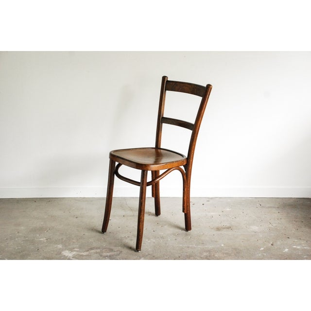 Bentwood Thonet Style Ladderback Cafe Chair Chairish