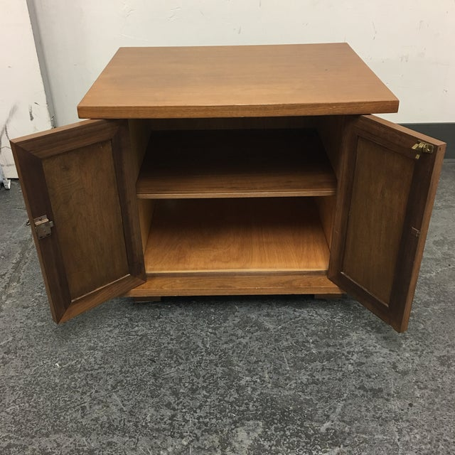 Vintage Michael Taylor Side Table/Nightstand - Image 6 of 7