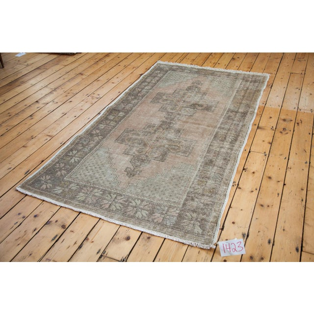 "Distressed Oushak Rug - 4'4"" x 8'2"" - Image 2 of 6"