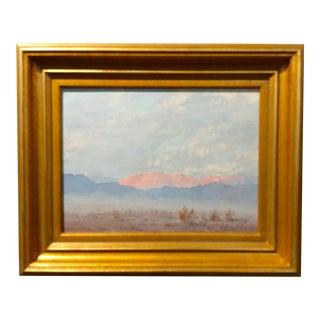 John Hilton Granite Mountain Desert Landscape Painting