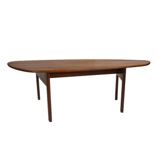 Danish Vintage Organic Shaped Coffee Table