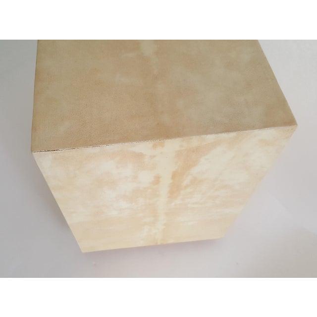R & Y Augousti Wood & Shagreen Jewelry Box - Image 9 of 9