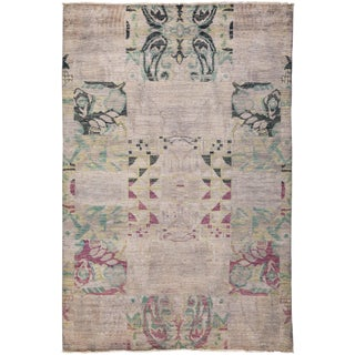 "Vibrance, Hand Knotted Area Rug - 5'10"" X 8'10"""
